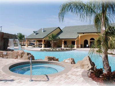 Resort Pool and Jacuzzi