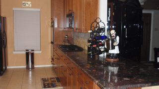 Arlington house photo - Large Kitchen with Black Applicances