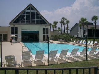 St. Augustine Beach condo photo - Indoor/Outdoor Heated Pool