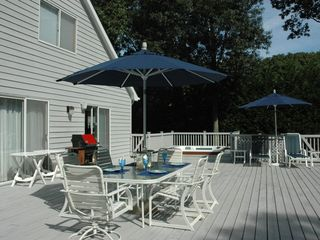 East Quogue house photo - Deck