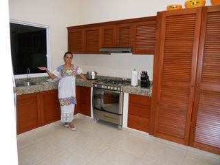 Akumal villa photo - The beautiful gourmet kitchen at Villa Arrecife!