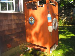 Oak Bluffs house photo - Take a refreshing outdoor hot-water shower!