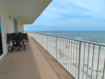 Gulf Shores condo rental - Balcony looking East