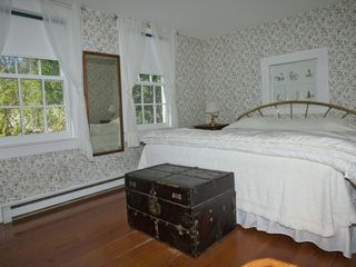 Edgartown cottage photo - Downstairs Master Bedroom (King)