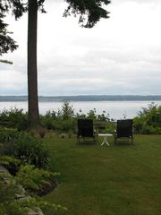 Port Ludlow house photo - Expansive view of Hood Canal; eagles & osprey; stairs to the beach