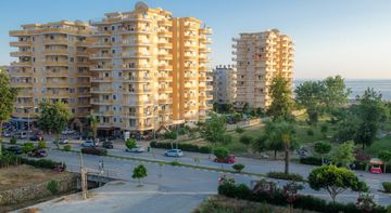 LUXURY apartments CEBECI 8 2+1 med 0 m to the sea