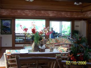 Anini Beach house photo - Kitchen looking north towards the Greatroom & front lanai