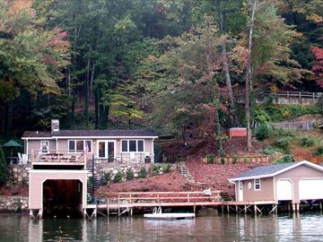 Lake Lure cottage rental - The Honeymoon Cottage and amenities await your pleasure!