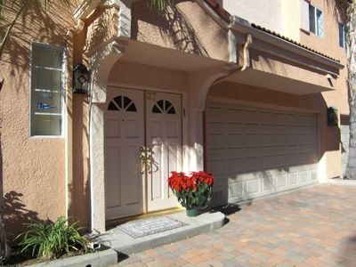 Front Door with 2 car Garage; Direct Access to Unit. Washer & Dryer in garage