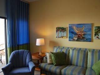 Redington Shores condo photo - Brand new color coordinated draperies have been installed throughout the unit.