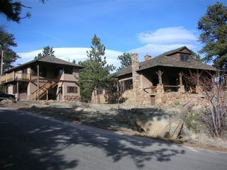 Estes Park house photo - Cottage on left, House on right