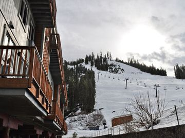 Balcony View of Squaw Valley Ski Resort