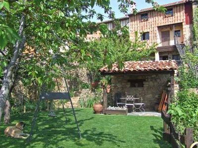 Cottage with stunning views, large garden and organic vegetable garden in the heart of a natural park in Salamanca