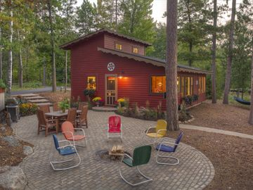 Crosslake cabin rental - Cabin and Lakeside Patio