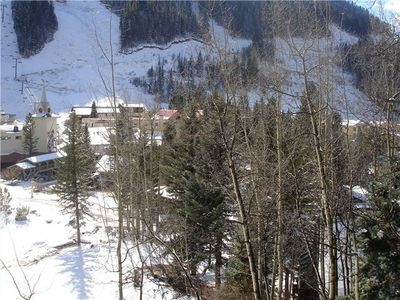 Taos Ski Valley condo rental - View of Al''s Run - Snakedance