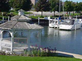 Manistee condo photo - Gazebo overlooking Marina is a perfect spot for family photos