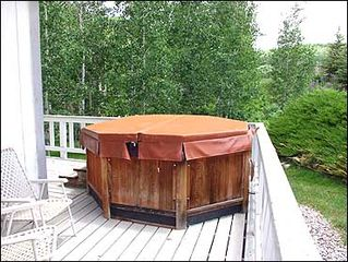 Snowmass Village house photo - Private Hot tub on deck