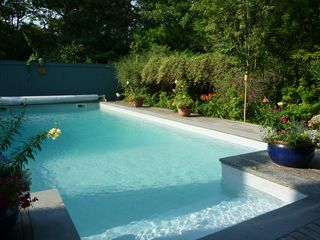 East Hampton house photo - Swimming pool in the summer