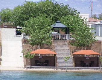 Mohave Valley house rental - View from the river