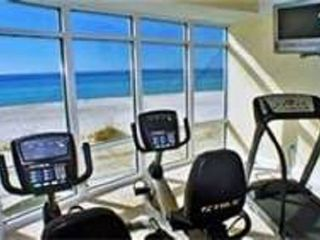 Ocean Villa Resort condo photo - Fitness Room Overlooks Ocean !