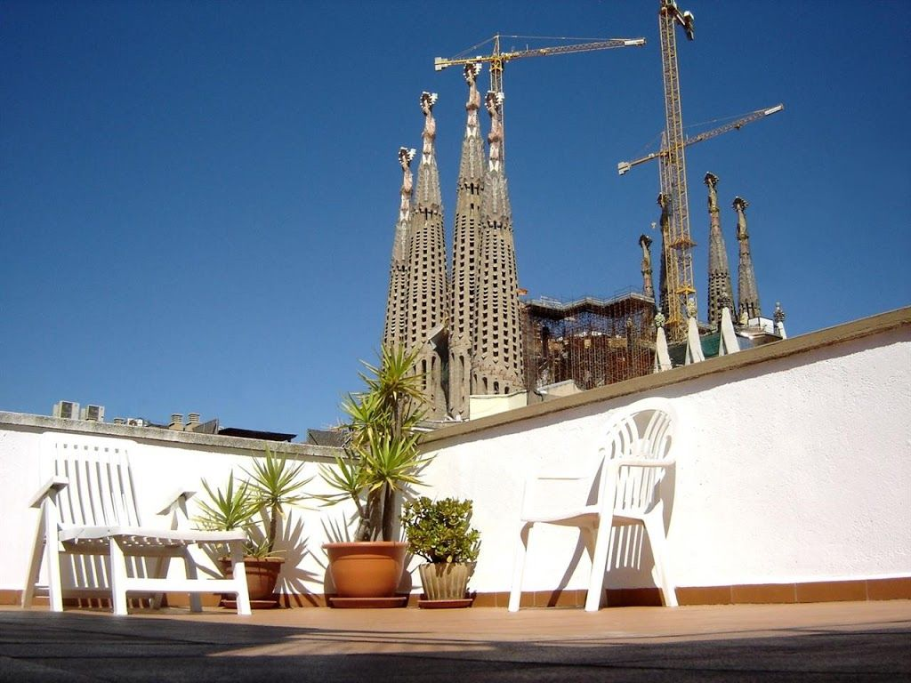 Apartment in barcelona with terrace, lift,...   vrbo