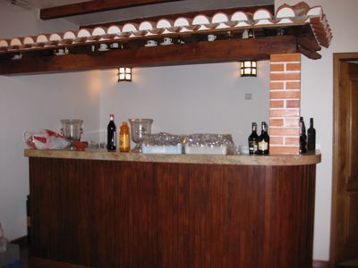 Bar downstairs