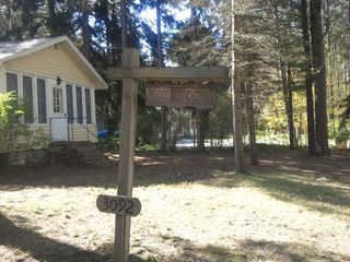 Ludington cottage photo - Hamlin Lake is just a block west!