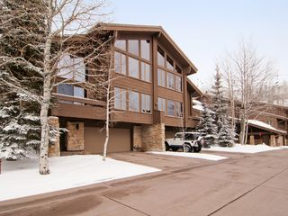 Deer Valley townhome photo - View of our townhouse as you drive in.