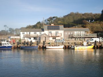 Seaton house rental - Sea House & Rosies Cottage from harbour