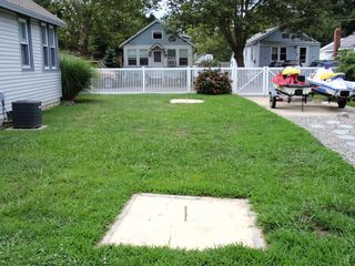 Cape May house photo - horseshoe pit