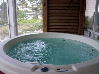 Hot Tub for Six Adults