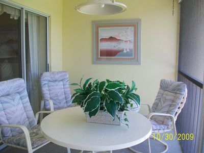 Plantation condo rental - Screened lanai overlooking golf course