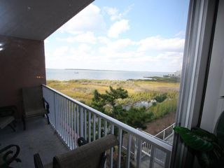 Makai Ocean City condo photo - view from master out the deck door