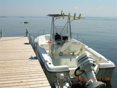 Fishing/Skying Boat available for Qualified renters