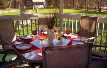 Gazebo Dining Area