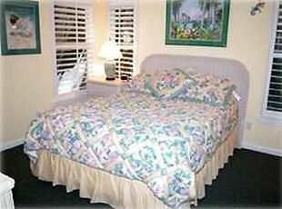 Captiva Cutie Master Bedroom