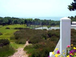 Chappaquiddick estate photo - Deck Views of Ocean & Edgartown Harbor