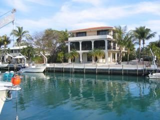 Islamorada house photo - deep water dock
