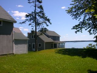 Freeport cottage photo - This 2 bedroom home is perched right on the edge of the ocean.