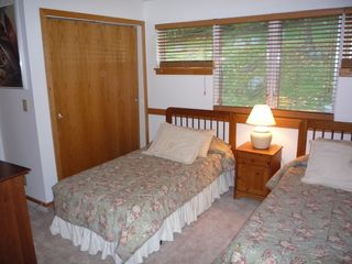 Killington townhome photo - Second Bedroom with private bathroom