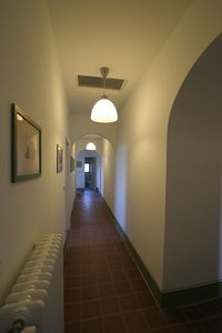 La Collinaccia First Floor, the corridor