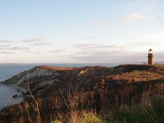Gayhead - Aquinnah house photo - Gay Head Cliffs and Moshup Beach a short bike ride away
