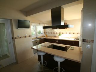 Caleta de Velez villa photo - Full Kitchen.