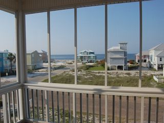 Fort Morgan house photo - View from the screen porch off the master & guest rooms.