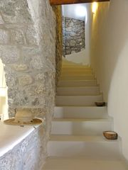 Mykonos villa photo - Staircase to upper level bedrooms