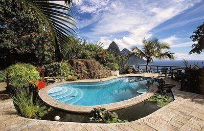 image for Spectacular Piton views from this Soufriere Villa with Pool