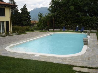 pool at Residence Griante