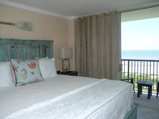 Galveston condo photo - VIew of balcony and sitting area off the master bedroom. Relax and enjoy!