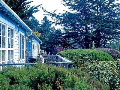 Rose, Heather & Fuchsia Cottages have Private Porches