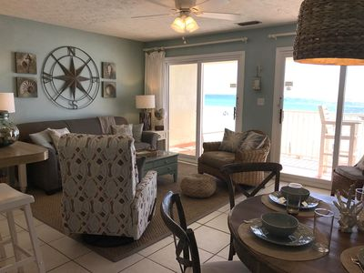 I See The Sea! From this delightful Eastern Shores Condo Seagrove FL.